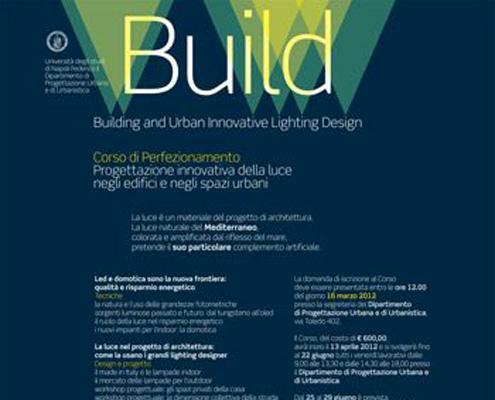 Università Federico II di Napoli. Build – Corso di specializzazione in lighting design